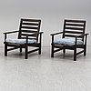 Elsa stackelberg, a pair of garden chairs from the second half of the 20th century