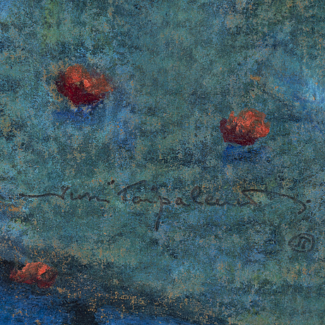Jussi taipaleenmÄki, pastel on paper, signed