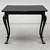 A late 19th century game table