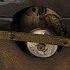 A rococo style mantle clock, circa 1900