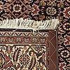 An old bidjar carpet ca 243 x 139 cm