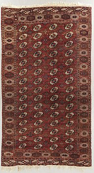 A semiantique Bochara carpet ca 346 x 217 cm.