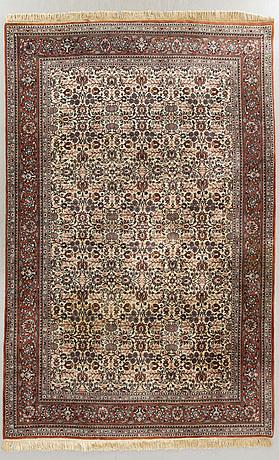 A semiantique isfahan carpet ca 350 x 25 2 cm