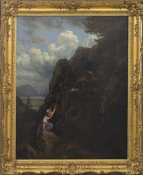 Unknown artist, oil on canvas, 19th century firsta half / mid.