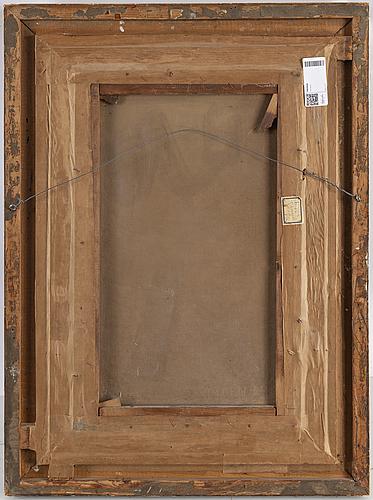 OkÄnd konstnÄr, 1800-tal, olja på duk, signerad t. emanuel och daterad -96.