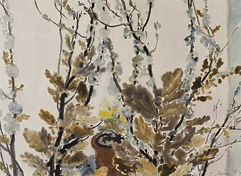 GAVRIIL MALYSH, watercolour, signed and dated 1969.