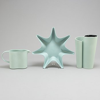 PIA TÖRNELL, 3 ceramic objets from the 'Pro Arte' collection for Rörstrand.