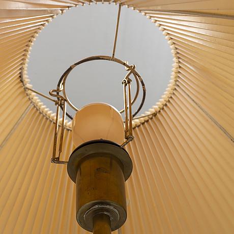A late 20th century floor light from böhlmarks, model no 15750.