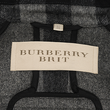 Burberry brit duffel coat in size 10(uk)