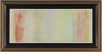 ROBERT NATKIN, mixed media on paper, signed and dated 1979.