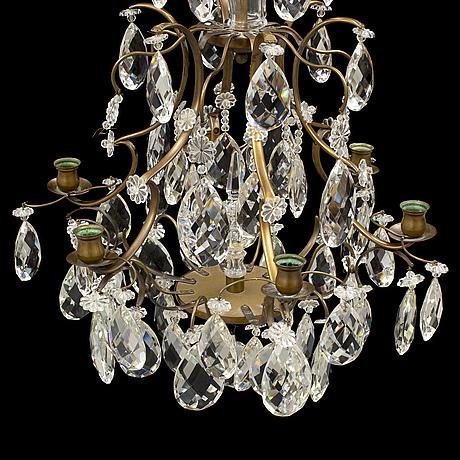 Ljuskrona, barockstil, 1900 talets andra hälft