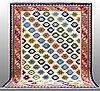 Carpet, kilim shiraz, ca 300 x 240 cm.