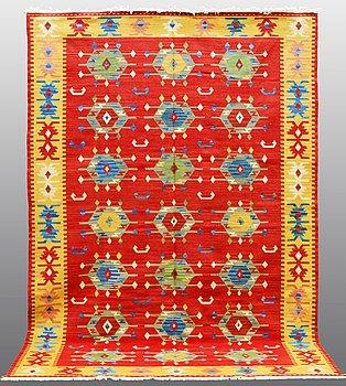 CARPET, Kilim Shiraz, ca 300 x 200 cm.