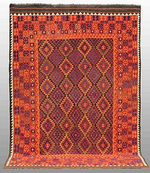CARPET, Kilim Afghan, ca 300 x 207 cm.