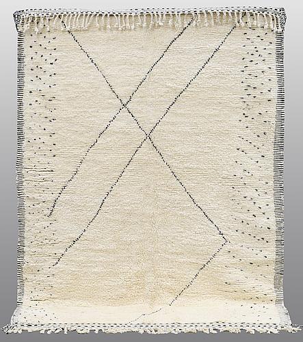 A carpet, morocco, ca 290 x 210 cm.