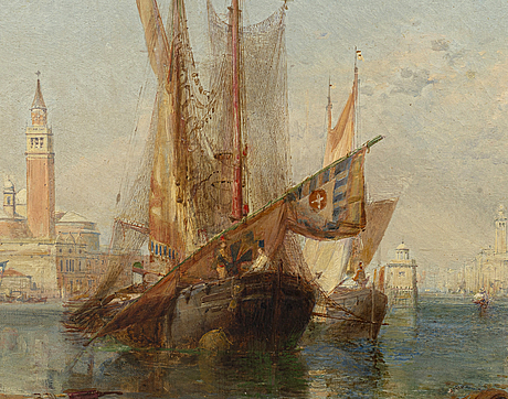 A painting by james edwin meadows