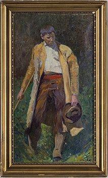 JAN BRAZDA, oil on canvas, signed Brazda.