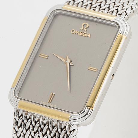 Omega, wristwatch, 24 x 29 mm.