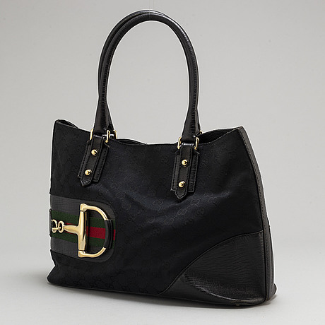 "Gucci, väska, ""web canvas hasler tote bag"""