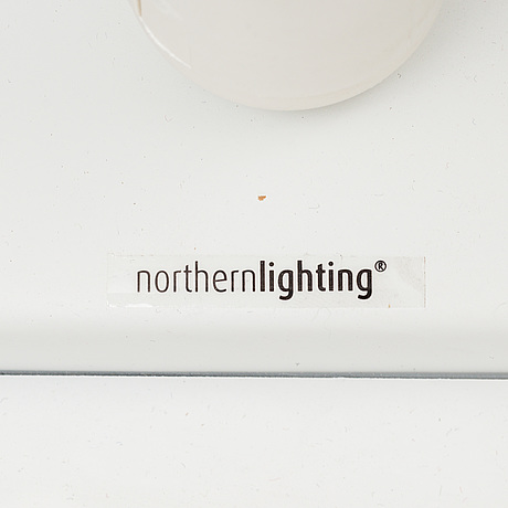 "Trond svendgÅrd & ove rogne, vägglampa, ""moo"", northern lighting, 2008"