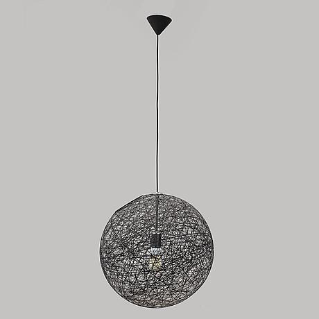 """Bertjan pot, taklampa, """"random light small"""", moooi. formgiven 2001"""