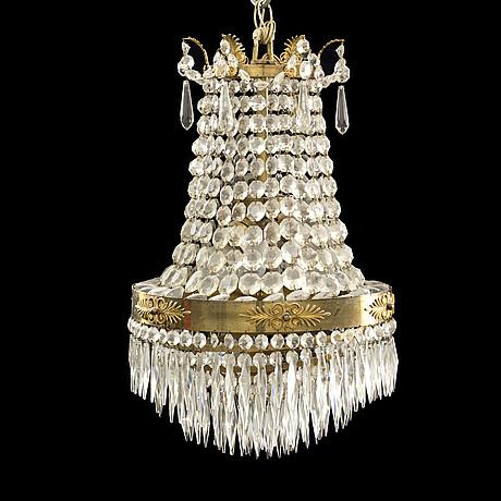 Takkrona, gustaviansk stil 1900 talets första hälft