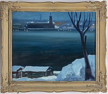 BERTEL BERTEL-NORDSTRÖM, olja på duk, signerad Bertel-Nordström och daterad 1944.