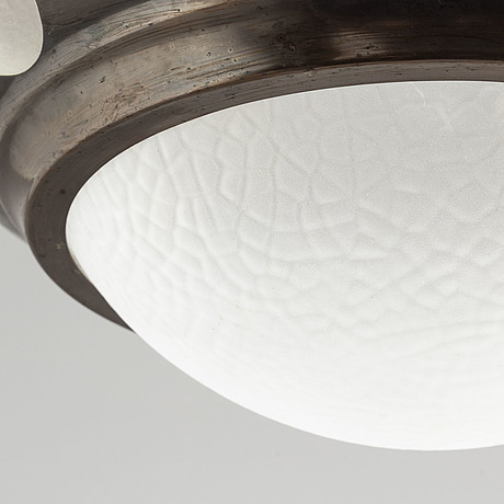 A jugend ceiling lamp.