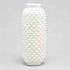 Gunnar nylynd, a whiteglazed stoneware vase, from rörstrand.