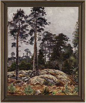 LINDORM LILJEFORS, oil on panel, signed and dated -38.