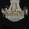 Ljuskrona, gustaviansk stil, 1900 talets andra hälft