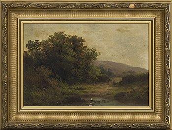 DANIEL MACKENSIE, oil on canvas signed.