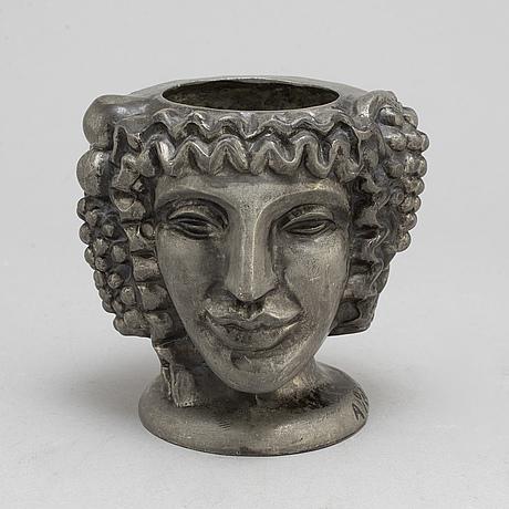 Anna petrus, pewter vase 1954.