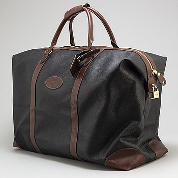 "MULBERRY, weekendbag, ""Large Clipper""."