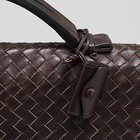 Bottega veneta, a leather briefcase
