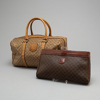 CÉLINE, a bag and a clutch.