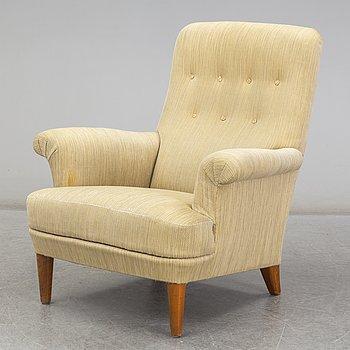 CARL MALMSTEN, a 'Bergshamra' easy chair, late 20th Century.