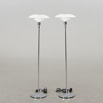 POUL HENNINGSEN, a pair of PH 3,5/2,5 floor lamps.