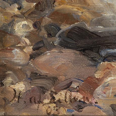 Herman af sillÉn, herman af sillén, olja på duk, sign och dat (19)03