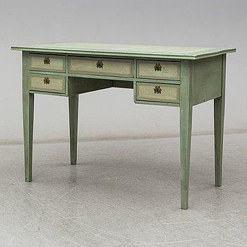 A Gustavian-style writing desk, 20th century.