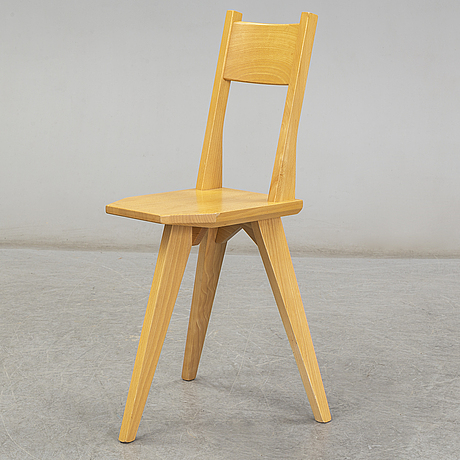 A 'camilla' chair by john kandell for källemo ab.
