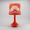 Table lamp by uno & Östen kristiansson, luxus, sweden.