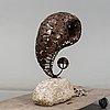 Daniel doyle, skulptur, koppar och järn.