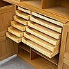 A mid 20th century shelf by mogens koch, rud rasmussens,