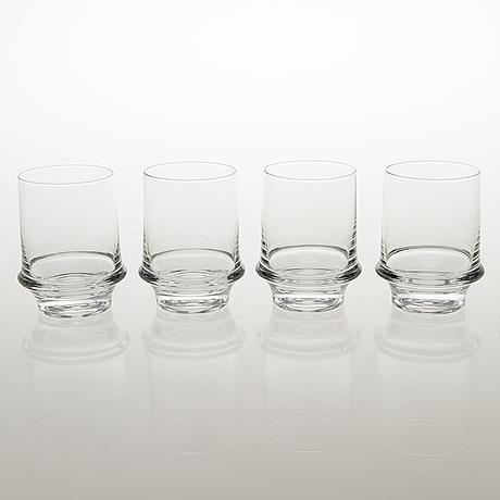 """Tapio wirkkala, """"marski"""", glasservis, 32 delar, iittala"""