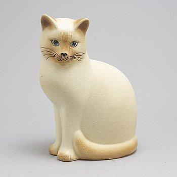 A stoneware figurine by Lisa Larson, 'Måns', Gustavsberg, 1900-talets slut.