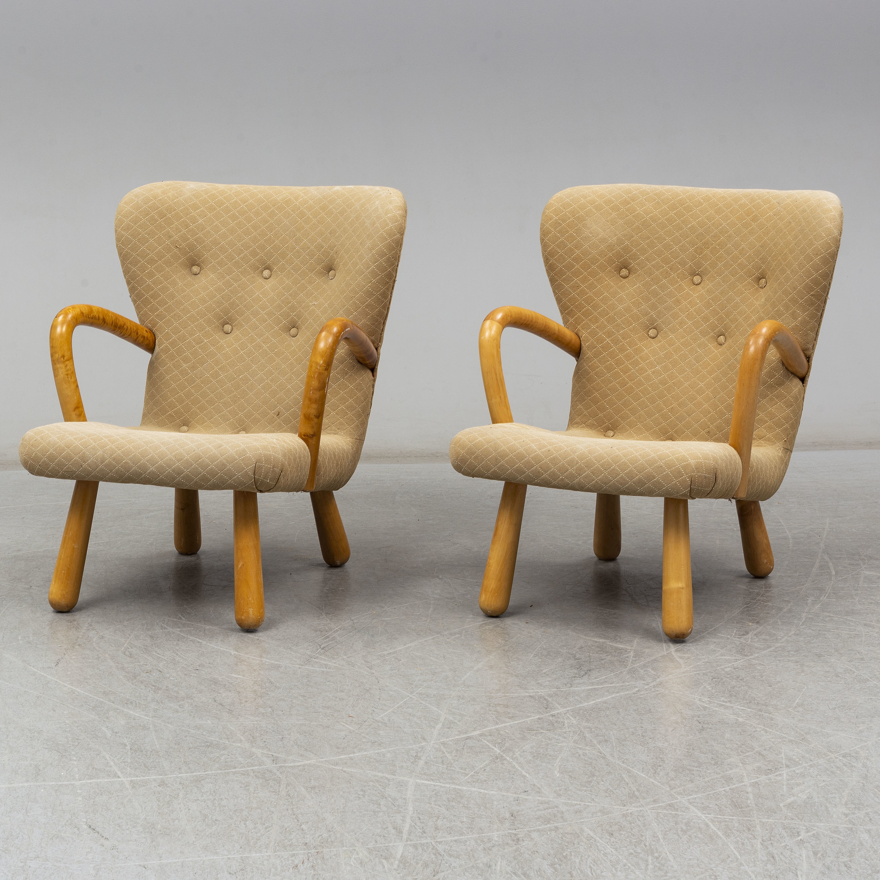 Awesome A Pair Of Ikea 1950S Ake Easy Chairs Bukowskis Download Free Architecture Designs Scobabritishbridgeorg