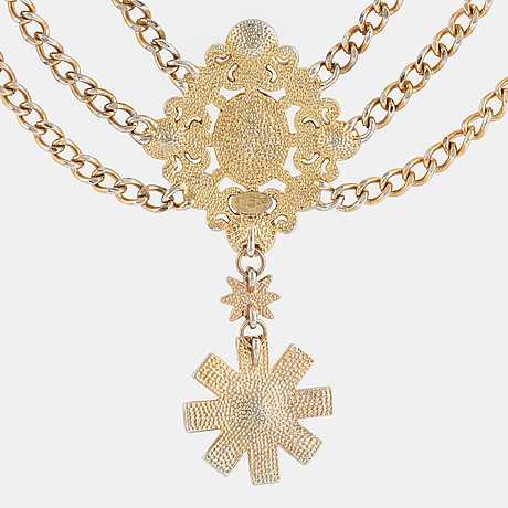 Chanel, a necklace, 2013.
