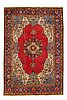 An old tabriz carpet ca 310 x 207 cm.