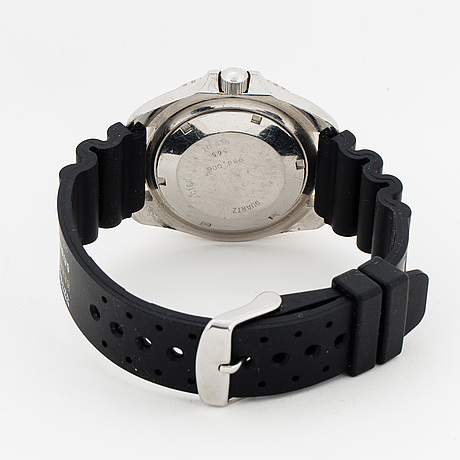 Heuer, poseidon, wristwatch,  41 mm.